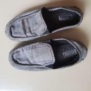Sepatu kustom slip on keren asli 100%