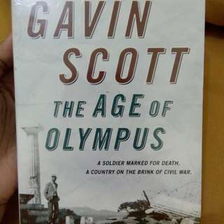 English Novel - The Age of Olympus by Gavin Scott