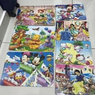 Puzzle 7 set kids