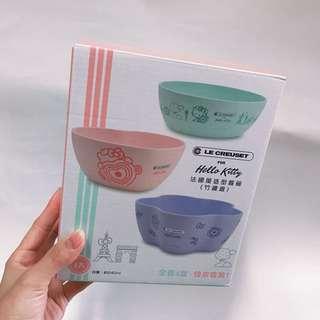 Kitty法國風造型餐碗(竹纖維)