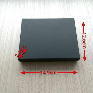 Bulk Black Gift Box / Present Box / Packaging Case