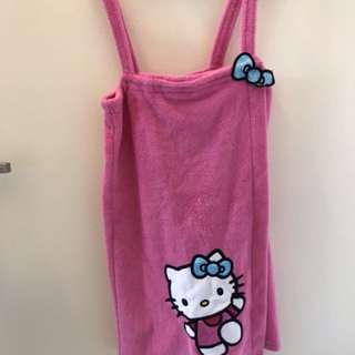 Hello Kitty Towel Sleepware Fleece