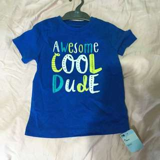 Brand new with tag mothercare baby boy or toddler top