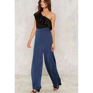 BN Nastygal Rise to the Occasion One-Shoulder Top