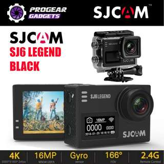 "PROMOTION!!! SJCAM SJ6 LEGEND 4K HD Gyro 2"" Touch Screen Action Camera - 100% Authentic SJCAM"