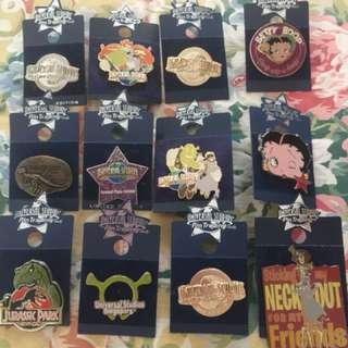 Universal studios pin trading