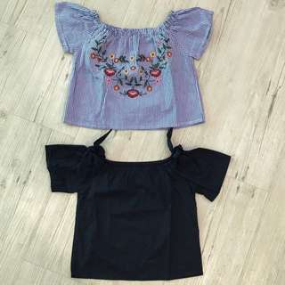 Seed Off Shoulder Top RM45 for 2 pieces
