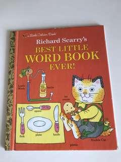 Richard Scarry's - Best Little Word Book Ever! - Little Golden Book