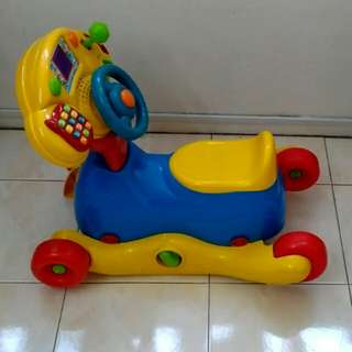 Vtech Grow & Go Ride On