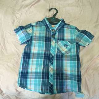 Brand new with tag mothercare baby boy or toddler top shirt
