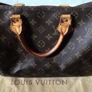 ORIGINAL AND AUTH LV BAG