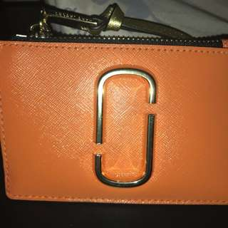 Marc Jacobs Top Zip Multi Wallet Orange!!