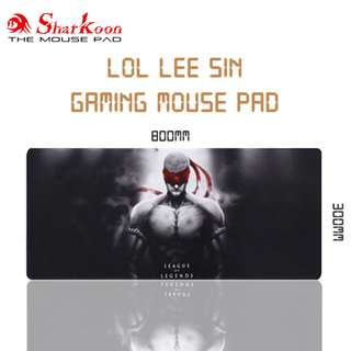 LOL Lee Sin Large Gaming Mouse Pad / Mousepad