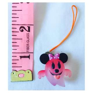 Ghost Minnie Mouse Keychain