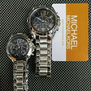 Authentic Michael Kors (Bradshaw) Silver Watch
