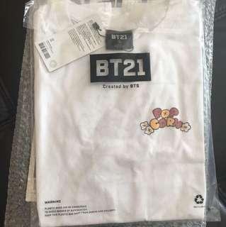 Sealed Instock Official Bangtan Boys Bts bt21 Tshirt shirt JIN RJ