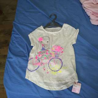 Brand new with tag mothercare girl top 4 years old