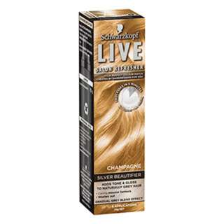 Schwarzkopf Live Salon Refresher Champagne Silver Beautifier - 70g (2 pack)