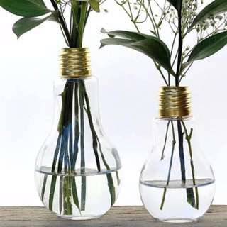 LIGHT BULB GLASS BOTTLE 500ML & 800ML