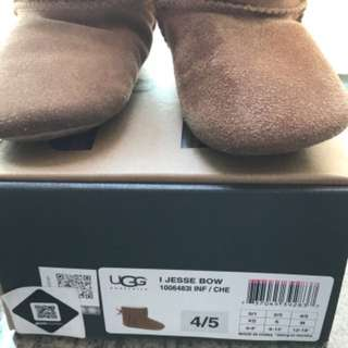 Authentic UGG boots for 9-12m babies