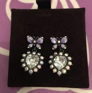 Anna Sui 閃石耳環