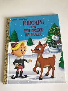 Rudolph The Red Nosed Reindeer - Little Golden Book