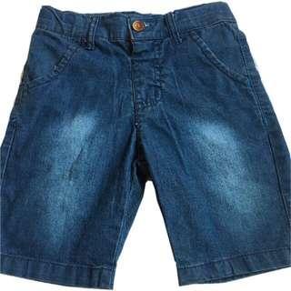 🍬 Branded Soft Denim Short For Kids