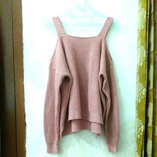 Sabrina Sweater Rajut