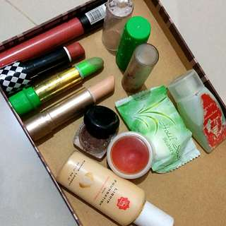 Take All (lipstik, lipbalm, sabun, eyebrow cream)