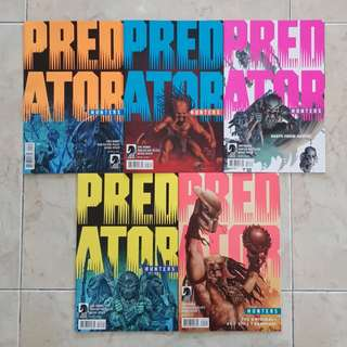 Predator: Hunters (Dark Horse Comics 5 Issues, #1 to 5 complete story arc)