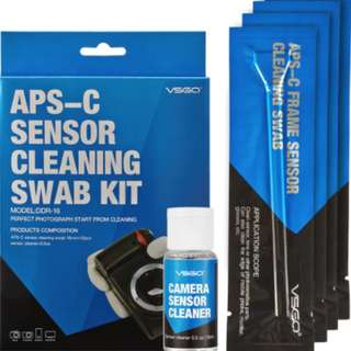 Camera Sensor Cleaning Swab Kit