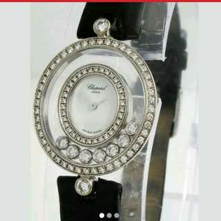 Chopard rare floating diamonds watch