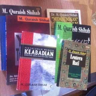 Koleksi Buku M Quraish Shihab