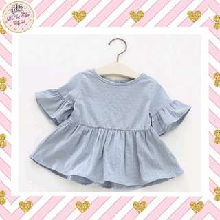 ⏰Limited Time Offer!  Grey Babydoll Blouse