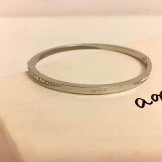 agnes b 鑽石手鈪 diamond bangle