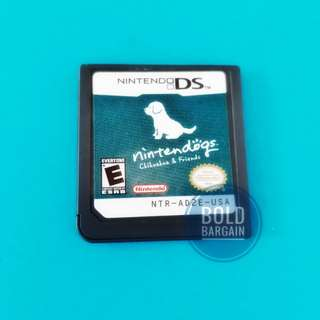 Authentic Nintendo game cartridge Chihuahua and Friends for DS 3DS DSi Game Console