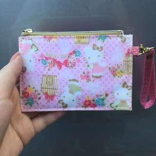 Authentic Sanrio Hello Kitty Wallet/Wrislet