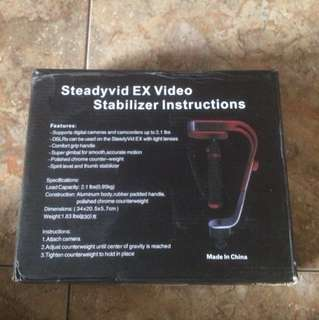 Steadyvid EX Video, stabilizer