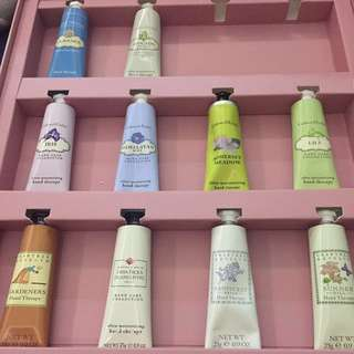 Crabtree &a Evelyn Hand Therapy pocket lotions