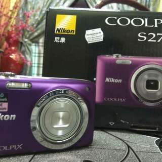 Nikon coolpix S2700 digital camera
