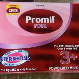 Promil Four 3+ Powdered Milk Drink