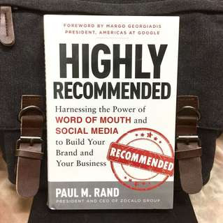 《Bran-New + Hardcover Edition + The Power Of Today's Most Effective Marketing Tools- W.O.M》Paul M. Rand - HIGHLY RECOMMENDED : Harnessing the Power of Word of Mouth and Social Media to Build Your Brand and Your Business
