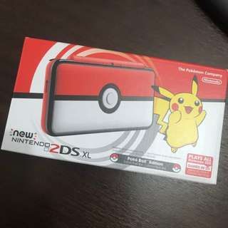 [PRICE REDUCED!!] BNIB Pokeball 2DS XL (Modded)
