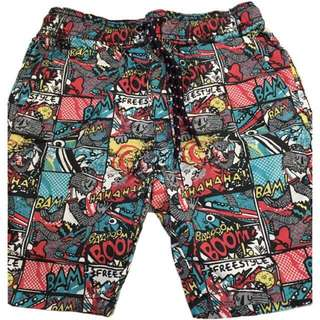 🍬 Branded Cartoon Walking Shorts For Boys
