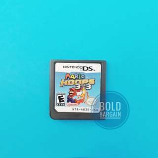 Authentic Nintendo game cartridge Super Mario Hoops 3 on 3 for DS 3DS DSi Game Console