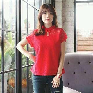 Red Cheongsam