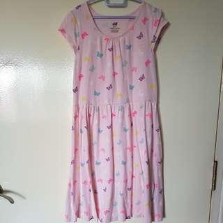 Girl casual butterfly Dress