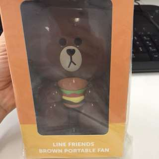 Line Friends Fan