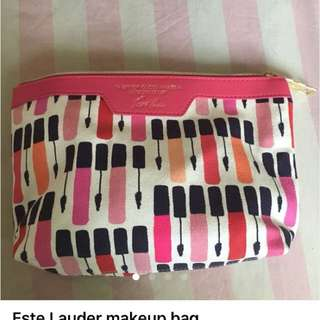 Estée Lauder makeup bag