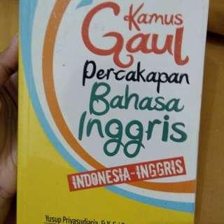 Kamus Gaul Indonesia - Inggris